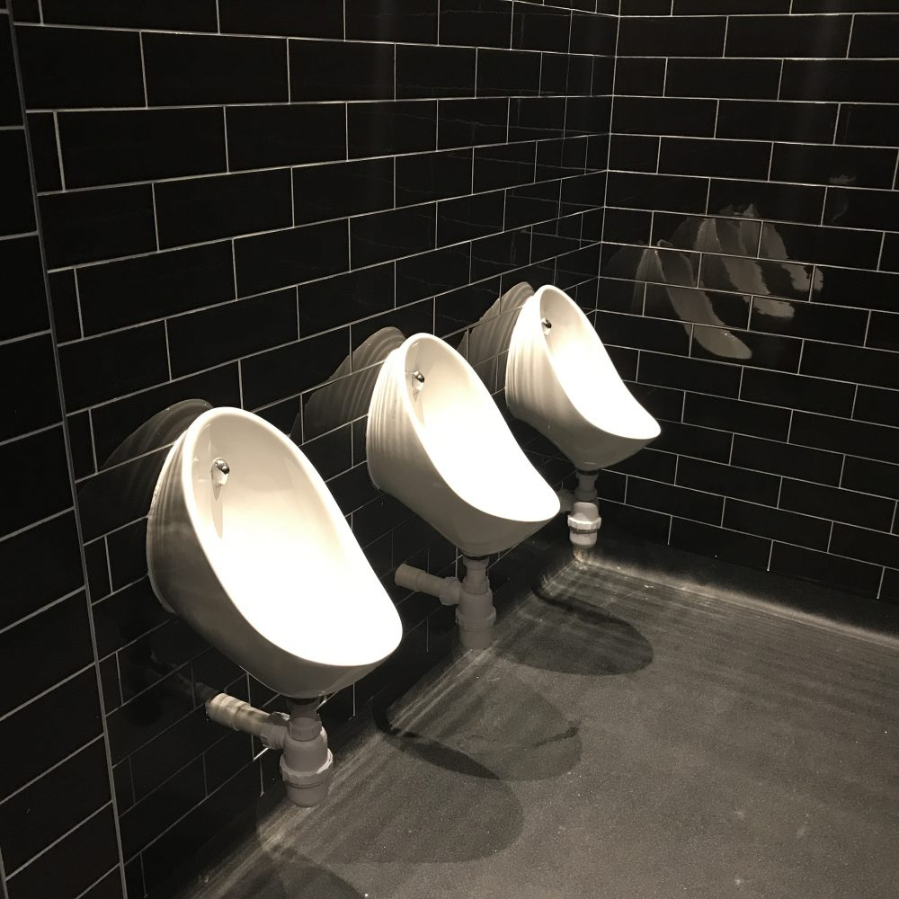 Toilet refurbishment at The Castle, Holland Park for Mitchells and Butlers